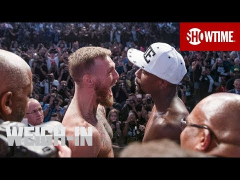 Xxx Mp4 Mayweather Vs McGregor Weigh In Sat Aug 26 On SHOWTIME PPV 3gp Sex