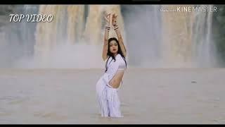 HOT DANCE IN WET SAREE    sexy dance   