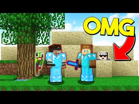 I REALLY HOPE THEY DON T SEE US Minecraft Trolling