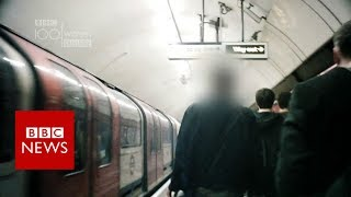 Catching harassers undercover on the Tube - BBC News
