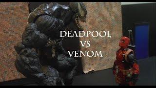 Deadpool vs Venom (STOP MOTION)