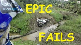 Epic Dirt Bike Fail Compilation April 2014 GoPro Hero 3+