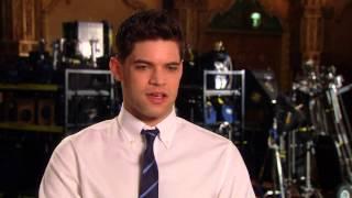 Jeremy Jordan - Smash - HD Interview Part 1