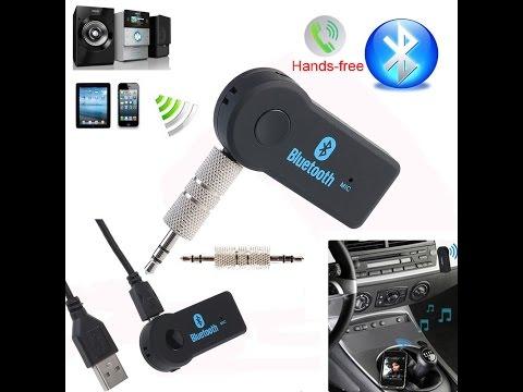 Аудио адаптер Bluetooth AUX в машину - VimoTube - The Best Way To Watch & Download Mp3 Videos HD.