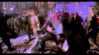 TMNT actions scenes (1990) movie
