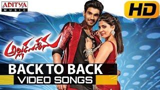 Alludu Seenu Video Songs Back To Back - Bellamkonda Sai Srinivas, Samantha