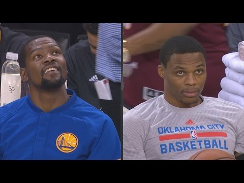 Kevin Durant vs Russell Westbrook 1st