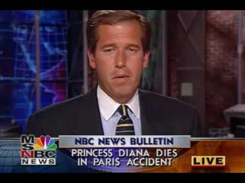 MSNBC BREAKING NEWS - PRINCESS DIANA CRASH & DEATH 08/31/1997