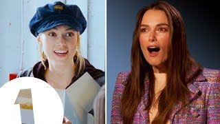 """I had a MASSIVE spot!"" Keira Knightley on *that* hat from Love Actually."