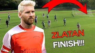 Zlatan esque back-heel volley! 😱😱😱   Sunday League Messi