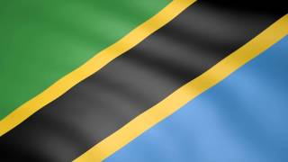 Animated Flag of Tanzania