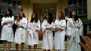 Enam model seksi bikin heboh di Hotel Novotel