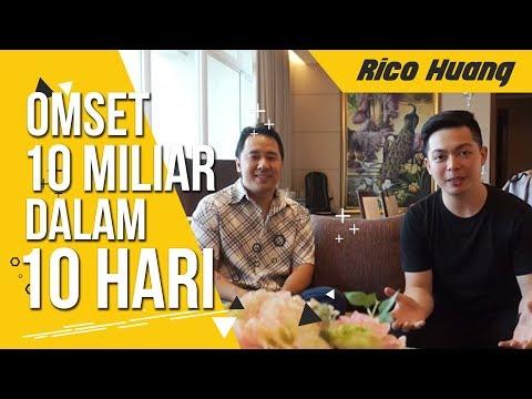 Jualan Laris Tembus Omset 10M Dalam Sehari OMG ! | Rico Huang #01