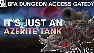 Talk of Future Customizations, Human Druids, Azerite Tanks and Alpha Access! WoW Battle for Azeroth