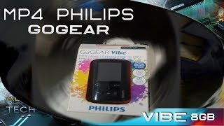 Philips GoGear Vibe 8 GB (MP4) - Unboxing e Análise