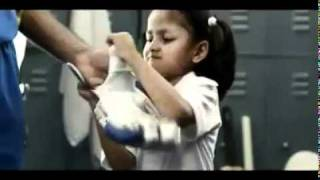 World cup 2011 AD with sachin & kids