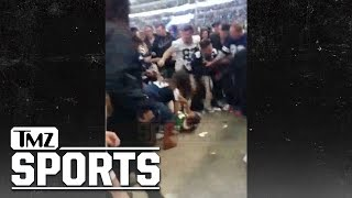 GREEN BAY PACKERS FAN STOMPED OUT BY COWBOYS FAN AT AT&T STADIUM After Crushing Loss | TMZ Sports