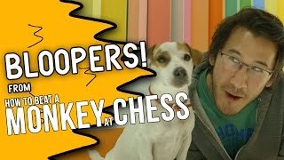HOW TO BEAT A MONKEY AT CHESS Bloopers! (Markiplier, GameTheorists, The Completionist & Cyndago)