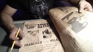 BUSCADOR DE TESOROS ENCUENTRA ANUNCIO DE PANCHO VILLA....