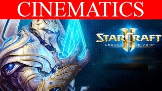 (SPOILERS) StarCraft 2 Legacy of the Void All Cinematics Campaign HD Ultra Gameplay