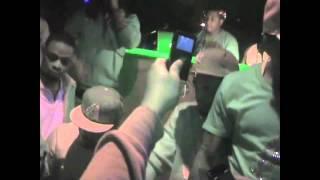 Waka Flocka Pours Full Bottle Of Rozay On Stripper @ DJ Rob E Rob B Day Bash FT. Juelz Santana