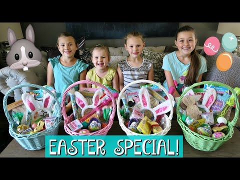 THE WEISS LIFE EASTER MORNING SPECIAL EASTER BASKET HAUL AND HUGE EASTER EGG HUNT 2017