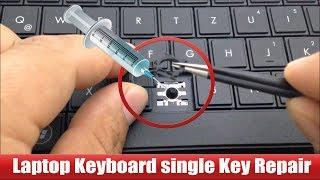 Laptop Keyboard key repair very easy way.