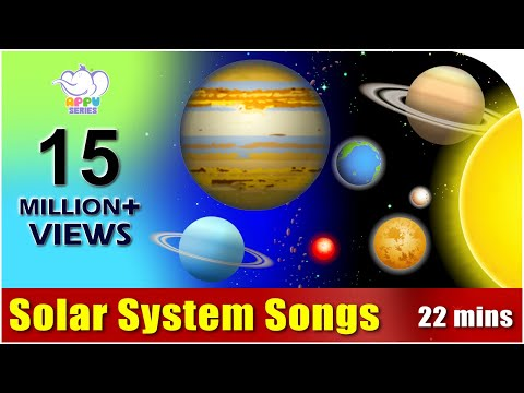 Songs on the Solar System in