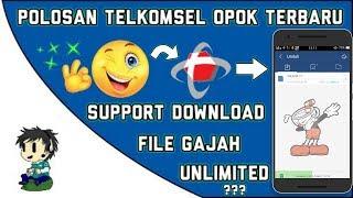 Polosan Telkomsel 0p0k Terbaru Menggunakan Apk Uc Mini   Angkut File Gajah!!!