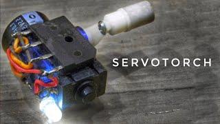 DIY Hand Crank Flashlight - SERVO TORCH