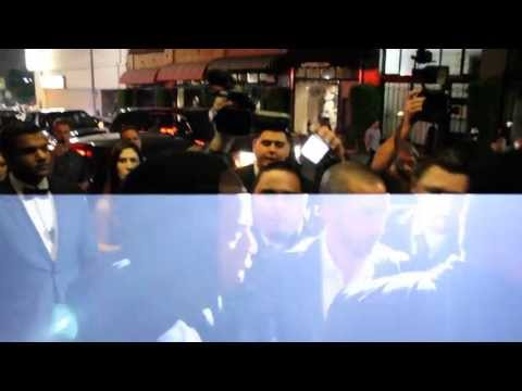 Jay-Z leaves Hollywood Club with Beyonce | Gets Attacked by Paparazzi