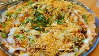 How To Make STREET CHAAT At Home, India's Famous Snacks.Aloo chaat IN HINDI