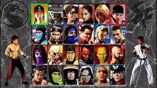 Mortal Kombat vs Street Fighter (MAME/arcade hack)