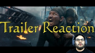 THE BATTLESHIP ISLAND Trailer Reaction