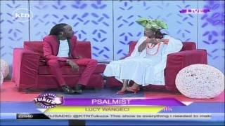 The Psalmist: Gospel singer Lucy Wangeci on Tukuza Show