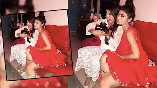 Naagin Mouni Roy Attends Adaa Khan's Birthday Party