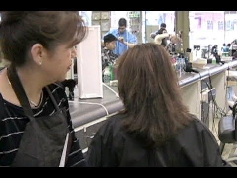Corte de cabello en Capas medias y cortas Cortes de cabelo em camadas Layered Haircut