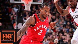 Toronto Raptors vs Portland Trail Blazers Full Game Highlights | 12.14.2018, NBA Season