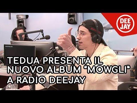 Tedua presenta il nuovo album Mowgli. Il disco della Giungla da Albertino