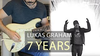 Lukas Graham - 7 Years - Electric Guitar Cover by Kfir Ochaion
