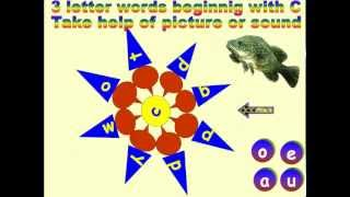 ENGLISH FOR BEGINNERS 3 LETTER WORDS BEGINNING WITH 'C'