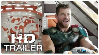 THOR RAGNAROK Thor Flying a Ship Trailer NEW (2017) Superhero Movie HD