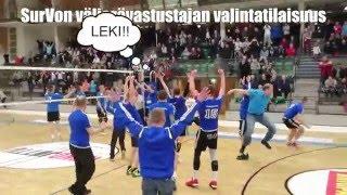 Välieräottelu SurVo -LeKi ottelumainos