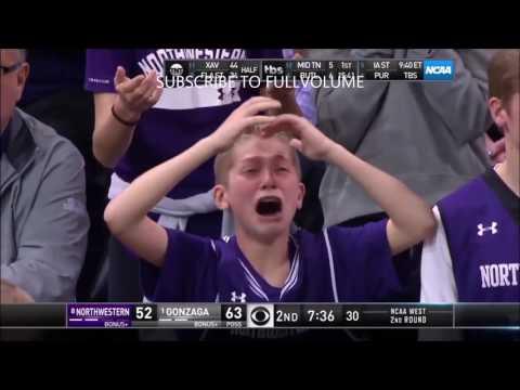 CRYING KID AT NCAA TOURNAMENT