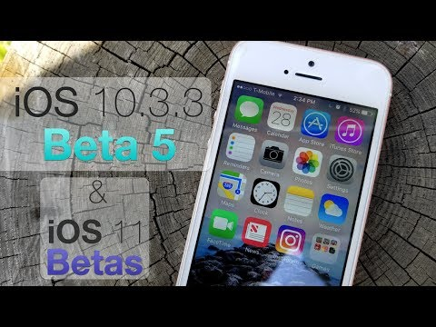 iOS 10.3.3 Beta 5 and iOS 11 Public Beta - Quick Update