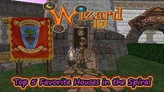 Wizard101 The Top 5 (Best) Favorite Houses in the Spiral