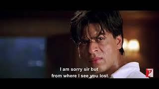 Shahrukh Khan Mohabbatein Movie Hurt Touching