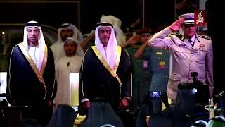 برعاية محمد بن زايد ، سيف بن زايد يشهد الاحتفال بالذكرى الستين لتأسيس شرطة أبوظبي