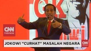 Meledak-ledak, Presiden Jokowi