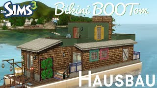 Sims 3 Hausbau - Hausboot Bikini BOOTom